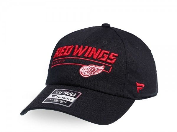 Fanatics Detroit Red Wings Authentic Pro Rinkside Adjustable Strapback Cap