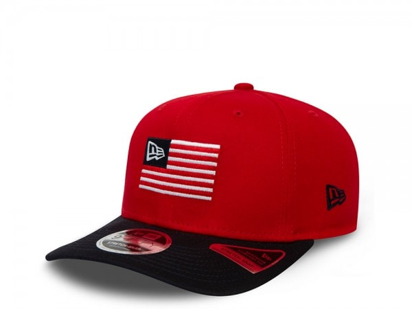 New Era Red Flagged 9Fifty Stretch Snapback Cap