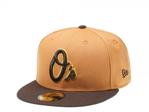 New Era Baltimore Orioles All About Brown Edition 59Fifty Fitted Cap