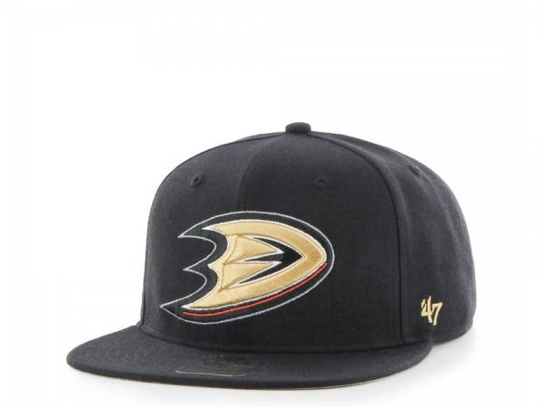 47Brand Anaheim Ducks Sure Shot Captain Snapback Cap