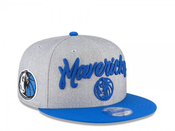 New Era Dallas Mavericks NBA Draft 20 9Fifty Snapback Cap