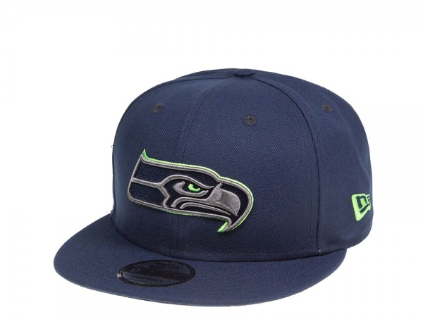 New Era Seattle Seahawks Blue Thunder 9Fifty Snapback Cap