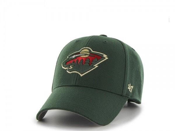 47brand Minnesota Wild MVP Strapback Cap