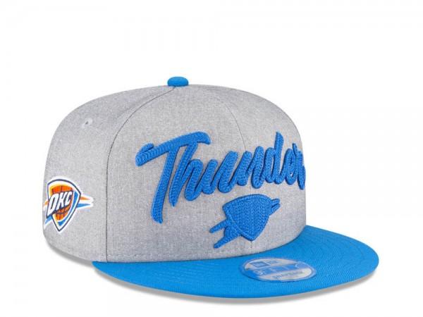 New Era Oklahoma City Thunder NBA Draft 20 9Fifty Snapback Cap