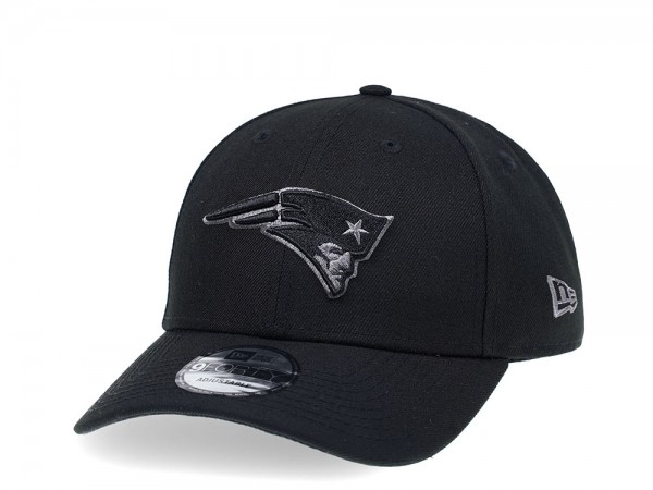 New Era New England Patriots Curved Grey Edition 9Forty Strapback Cap