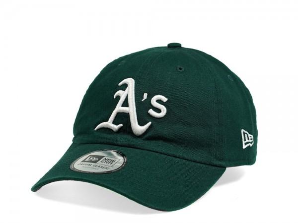 New Era Oakland Athletics Casual Classic Green Strapback Cap
