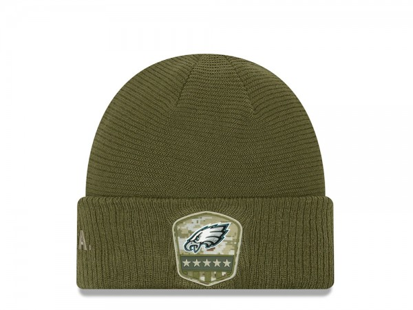 New Era Philadelphia Eagles Salute to Service 2019 Mütze
