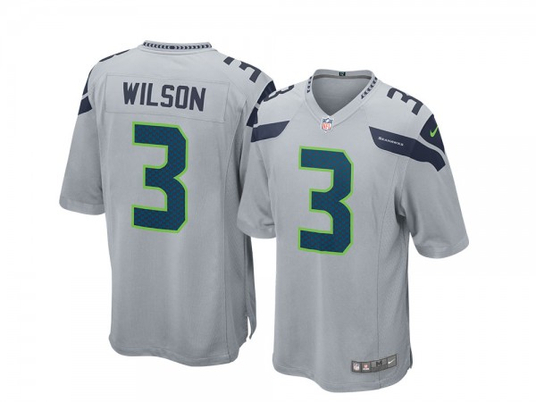 Nike Seattle Seahawks Russell Wilson Alternate Game NFL Jersey