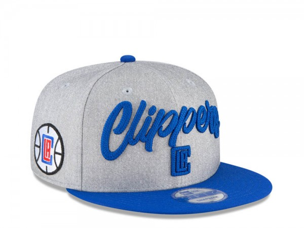 New Era Los Angeles Clippers NBA Draft 20 9Fifty Snapback Cap