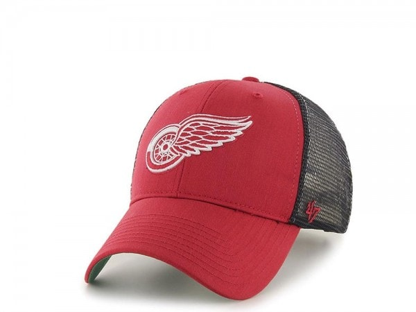 47brand Detroit Red Wings MVP Trucker Snapback Cap