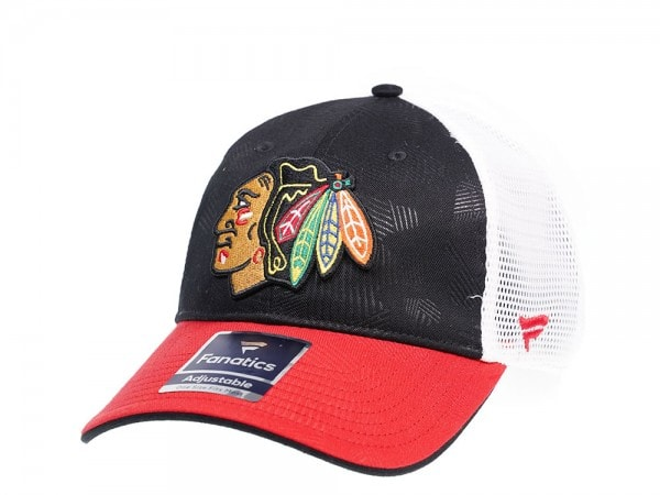 Fanatics Chicago Blackhawks Iconic Trucker Snapback Cap