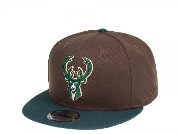 New Era Milwaukee Bucks Forrest Edition 9Fifty Snapback Cap