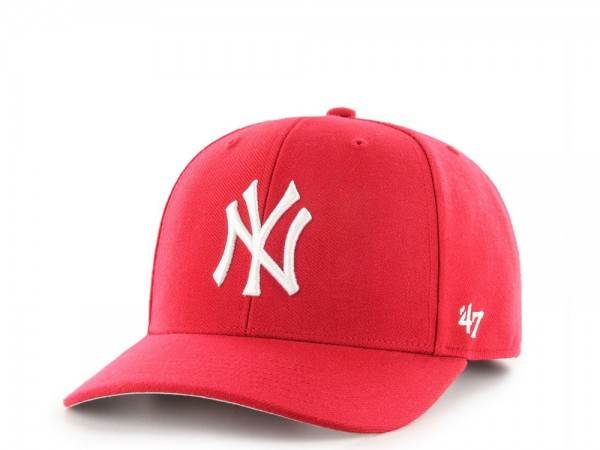 47Brand New York Yankees Red Cold Zone MVP DP Snapback Cap