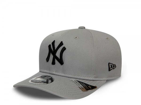 New Era New York Yankees Gray 9Fifty Stretch Snapback Cap