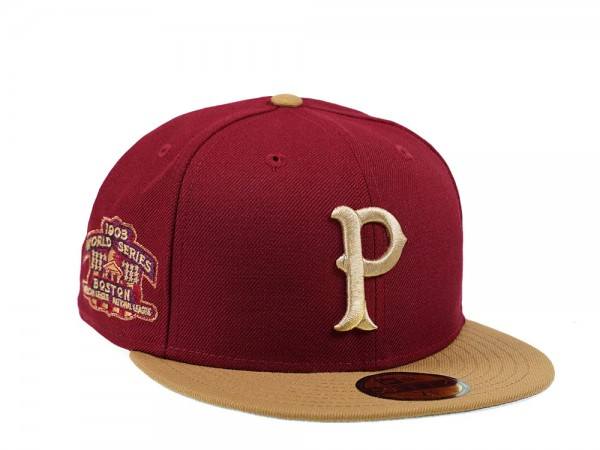 New Era Pittsburgh Pirates World Series 1903 59Fifty Fitted Cap