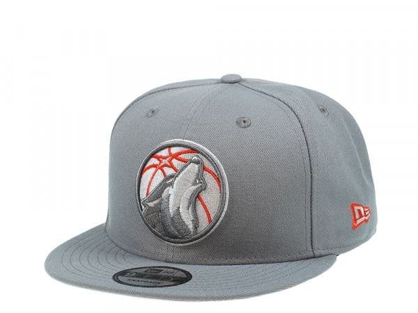 New Era Minnesota Timberwolves Storm Gray Edition 9Fifty Snapback Cap