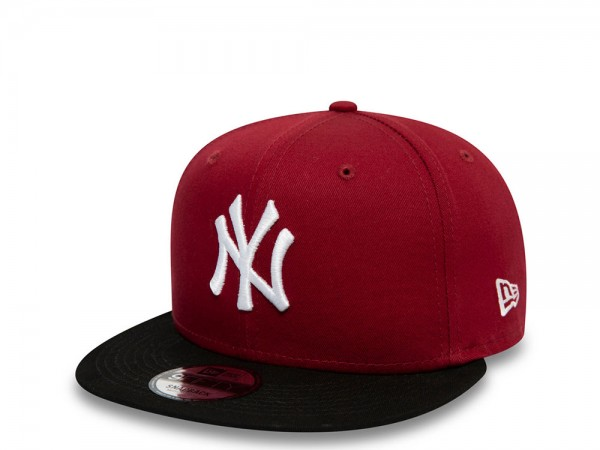New Era New York Yankees Color Block Maroon 9Fifty Snapback Cap