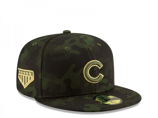 New Era Chicago Cubs Armed Forces Day On Field Fitted 59Fifty Cap