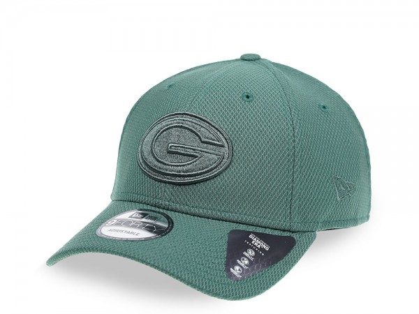 New Era Green Bay Packers Mono Colour 9Forty Snapback Cap