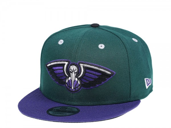 New Era New Orleans Pelicans Dark Green Edition 9Fifty Snapback Cap