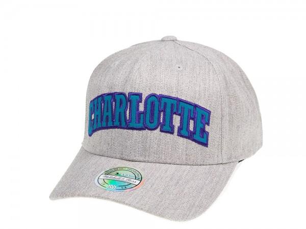 Mitchell & Ness Charlotte Hornets Jersey Logo 110 Flexfit Cap
