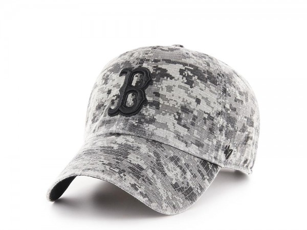 47Brand Boston Red Sox Digi Camo Ripstop Clean Up Strapback Cap