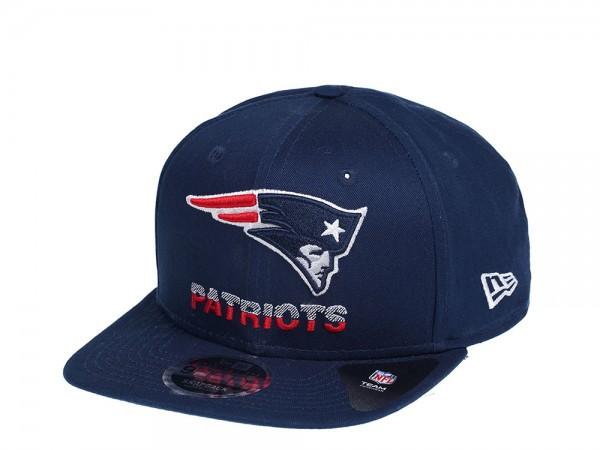 New Era New England Patriots Tech Team 9Fifty Original Fit Snapback Cap
