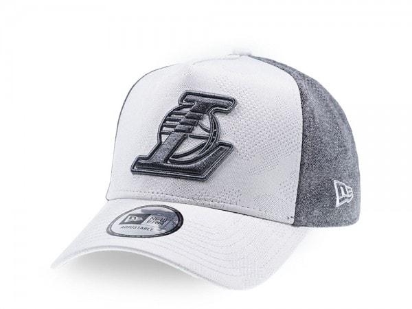 New Era Los Angeles Lakers Engineered Trucker Snapback Cap