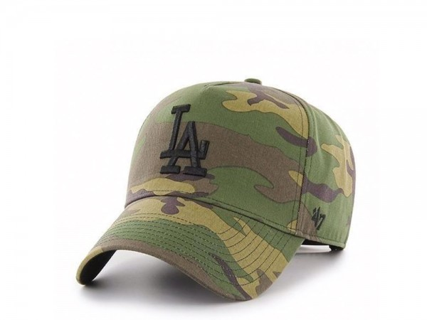47Brand Los Angeles Dodgers Camo Grove MVP DT Snapback Cap