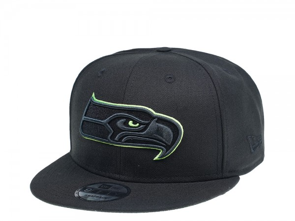 New Era Seattle Seahawks Green Action 9Fifty Snapback Cap