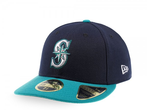 New Era Seattle Mariners Alternate Authentic Onfield Low Profile  59Fifty Fitted Cap