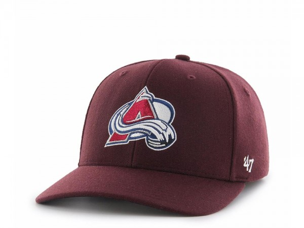 47brand Colorado Avalanche Contender Stretch Fit Cap