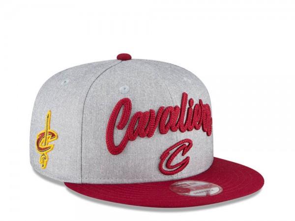 New Era Cleveland Cavaliers NBA Draft 20 9Fifty Snapback Cap