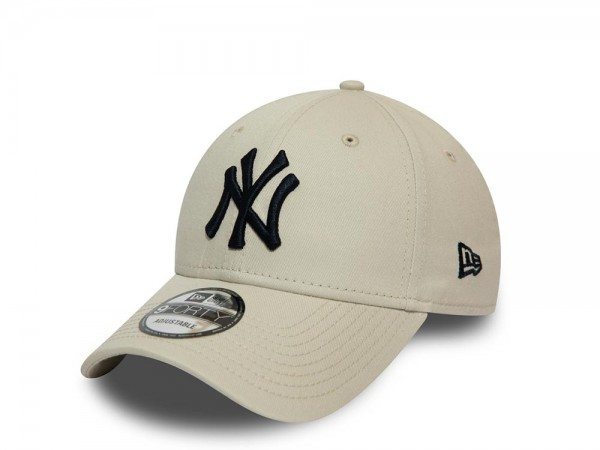 New Era New York Yankees Stone White 9Forty Adjustable Cap