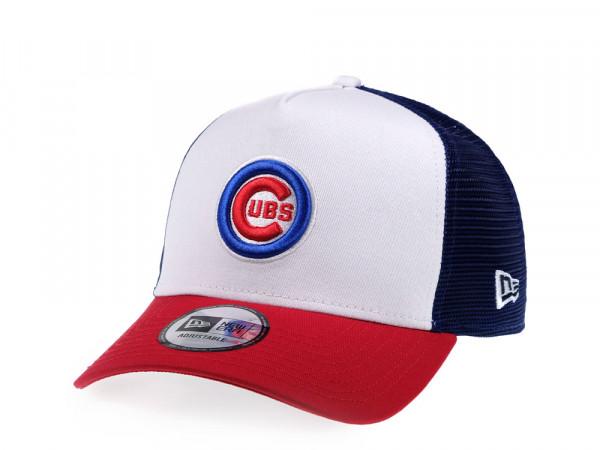 New Era Chicago Cubs Trucker Snapback Cap