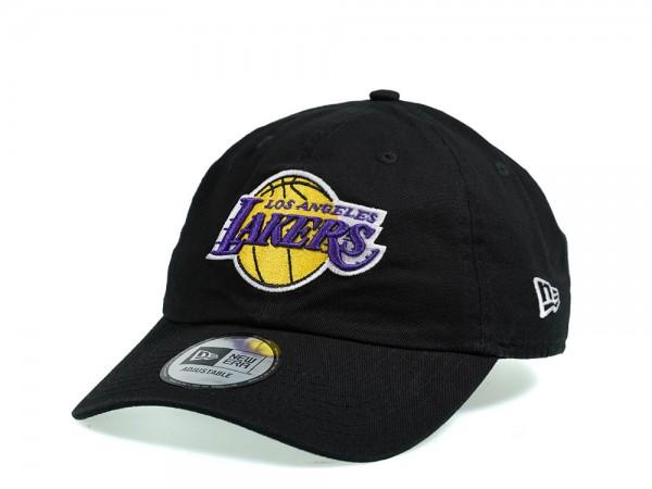 New Era Los Angeles Lakers Casual Dad Hat Strapback Cap