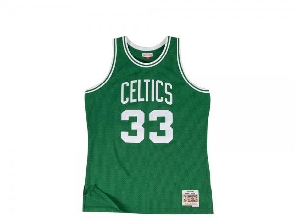 Mitchell & Ness Boston Celtics Larry Bird Swingman Jersey 2.0