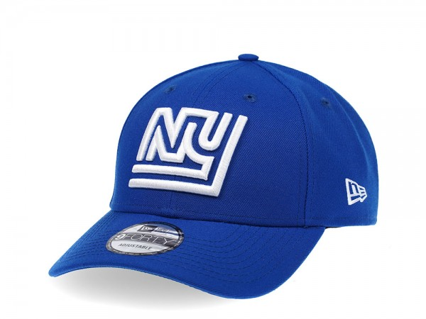 New Era New York Giants Curved Blue Edition 9Forty Snapback Cap