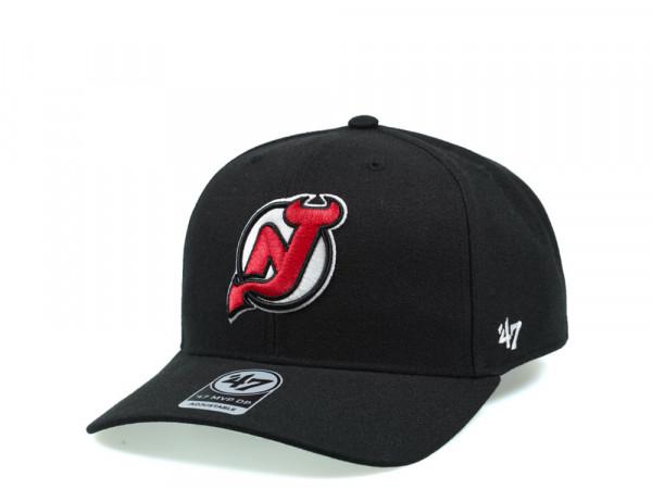 47Brand New Jersey Devils Cold Zone MVP DP Snapback Cap