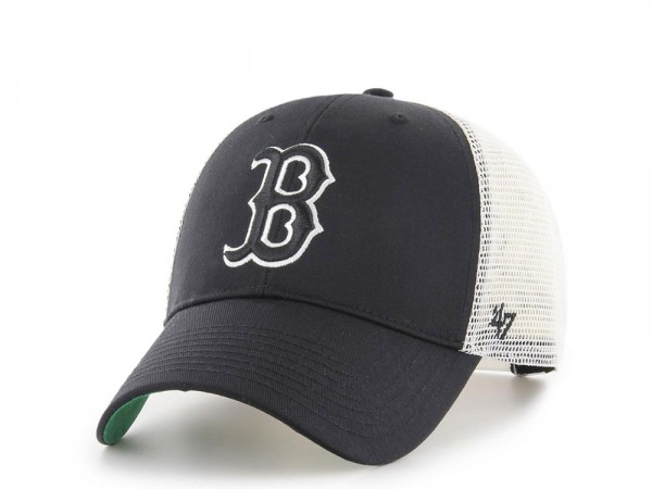 47Brand Boston Red Sox MVP Black Trucker Snapback Cap