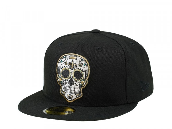 New Era New Orleans Saints Skull Edition 59Fifty Fitted Cap