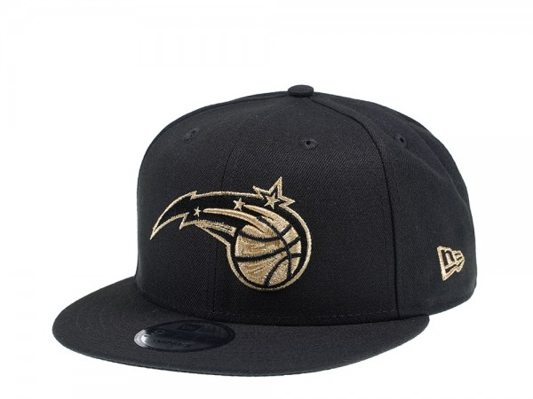 New Era Orlando Magic Black and Gold Edition 9Fifty Snapback Cap