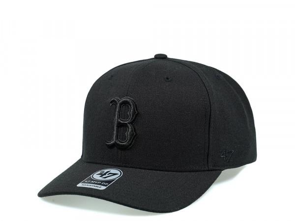 47Brand Boston Red Sox Cold Zone MVP DP All Black Snapback Cap