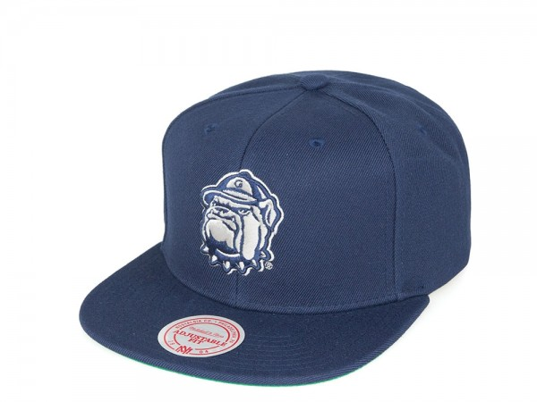 Mitchell & Ness Georgetown Hoyas Team Solid black Snapback Cap