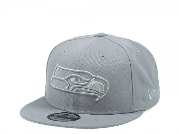 New Era Seattle Seahawks All About Gray Edition 9Fifty Snapback Cap