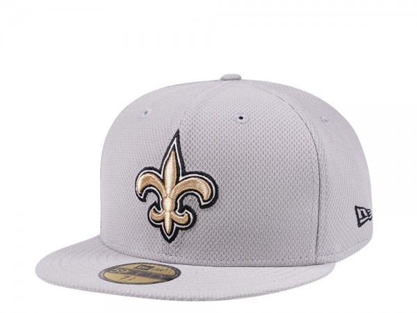 New Era New Orleans Saints All About Grey 59Fifty Fitted Cap