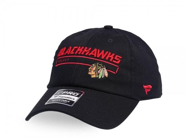 Fanatics Chicago Blackhawks Authentic Pro Rinkside Adjustable Strapback Cap