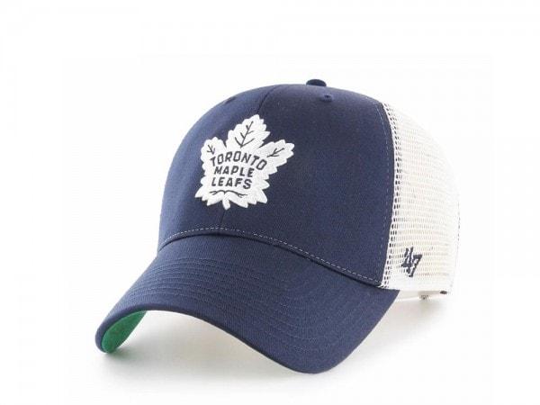 47brand Toronto Maple Leafs MVP Trucker Snapback Cap