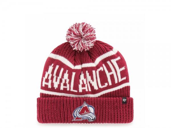 47 Brand Colorado Avalanche Calgary Cuff Mütze