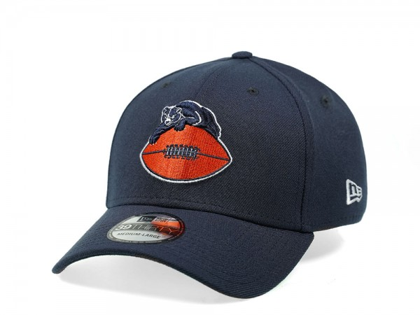 New Era Chicago Bears Throwback Primary Logo 39Thirty Stretch Cap